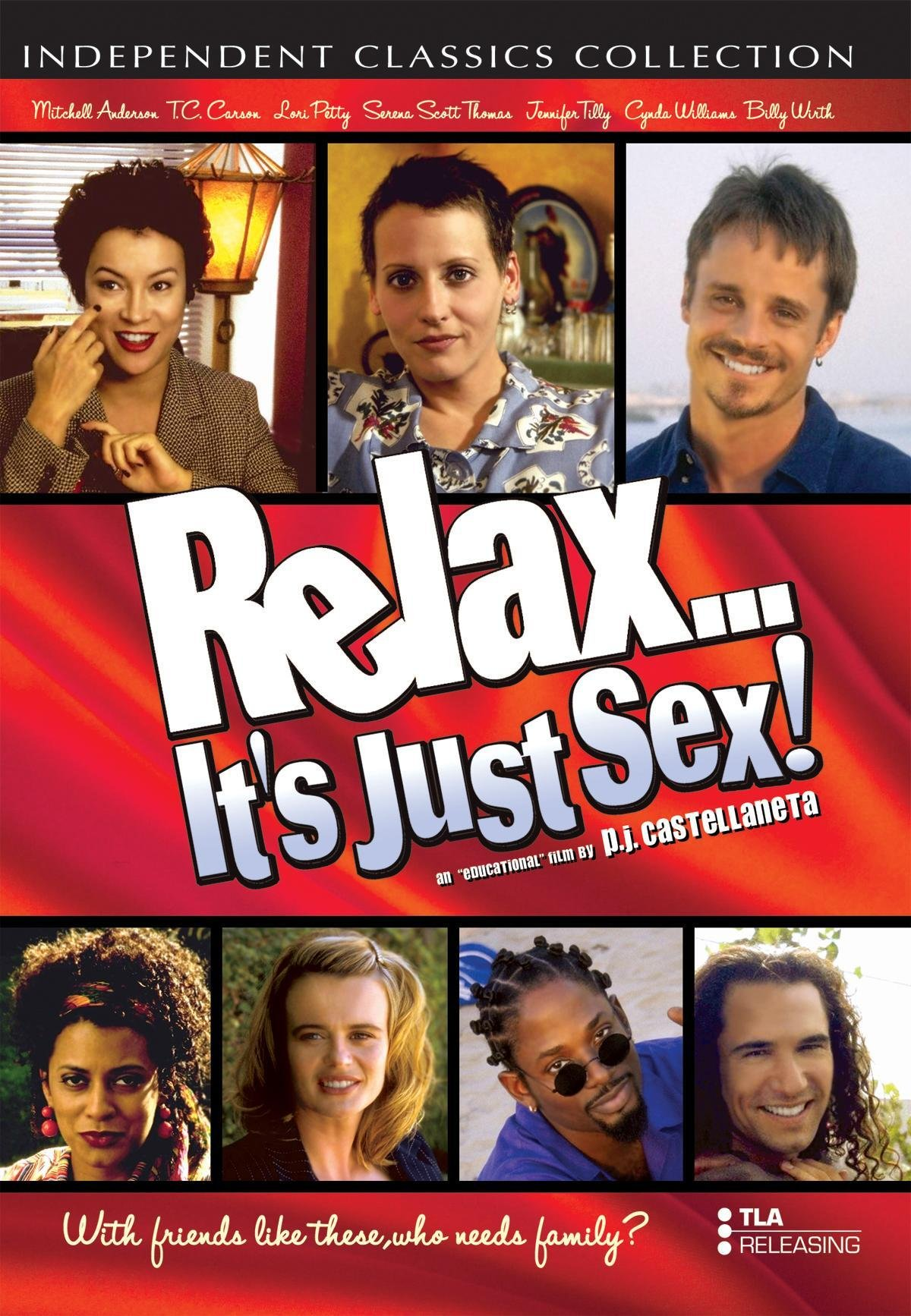 Relax... It's just sex -elokuvan DVD-kansikuva