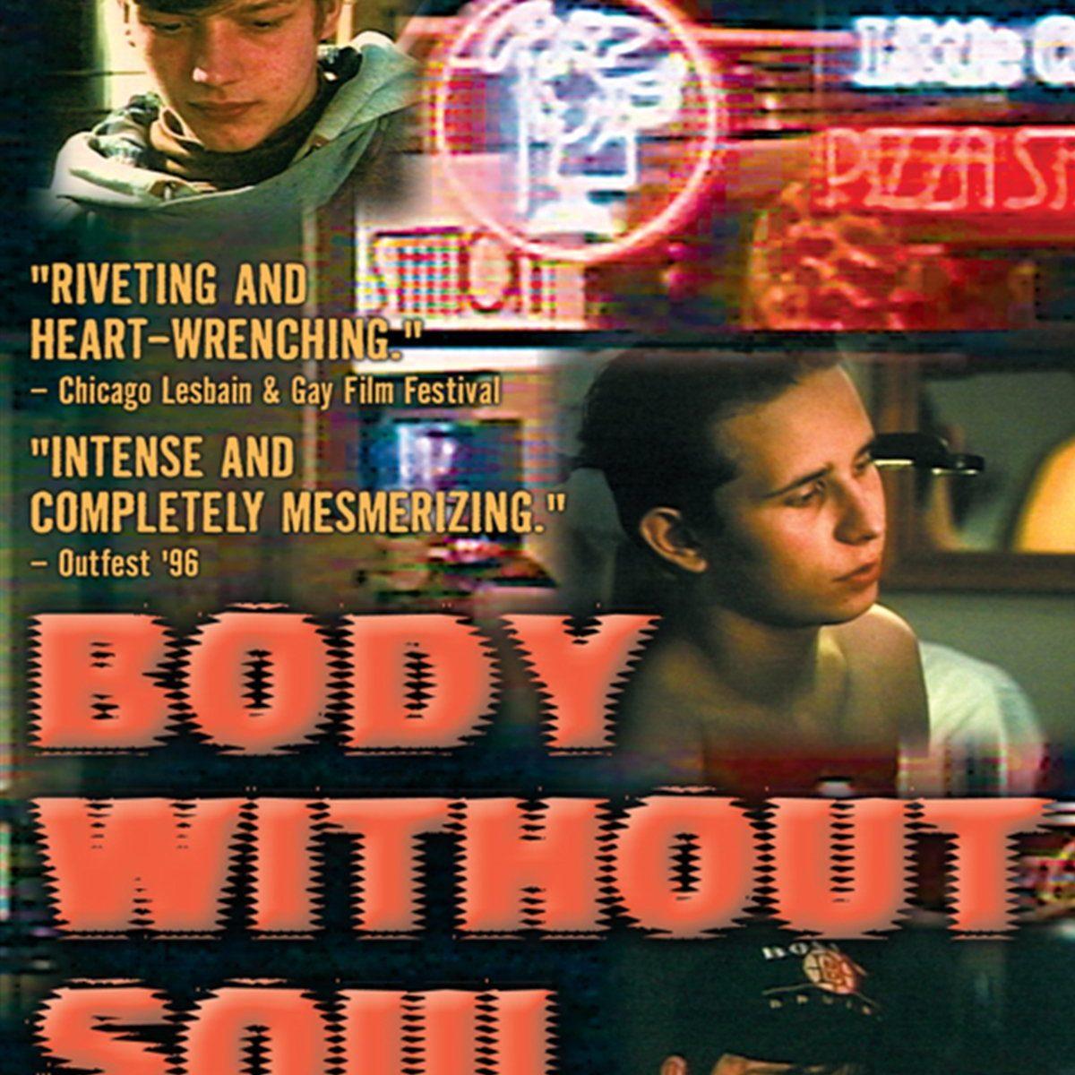Body without soul -dokumentin dvd-kansikuva