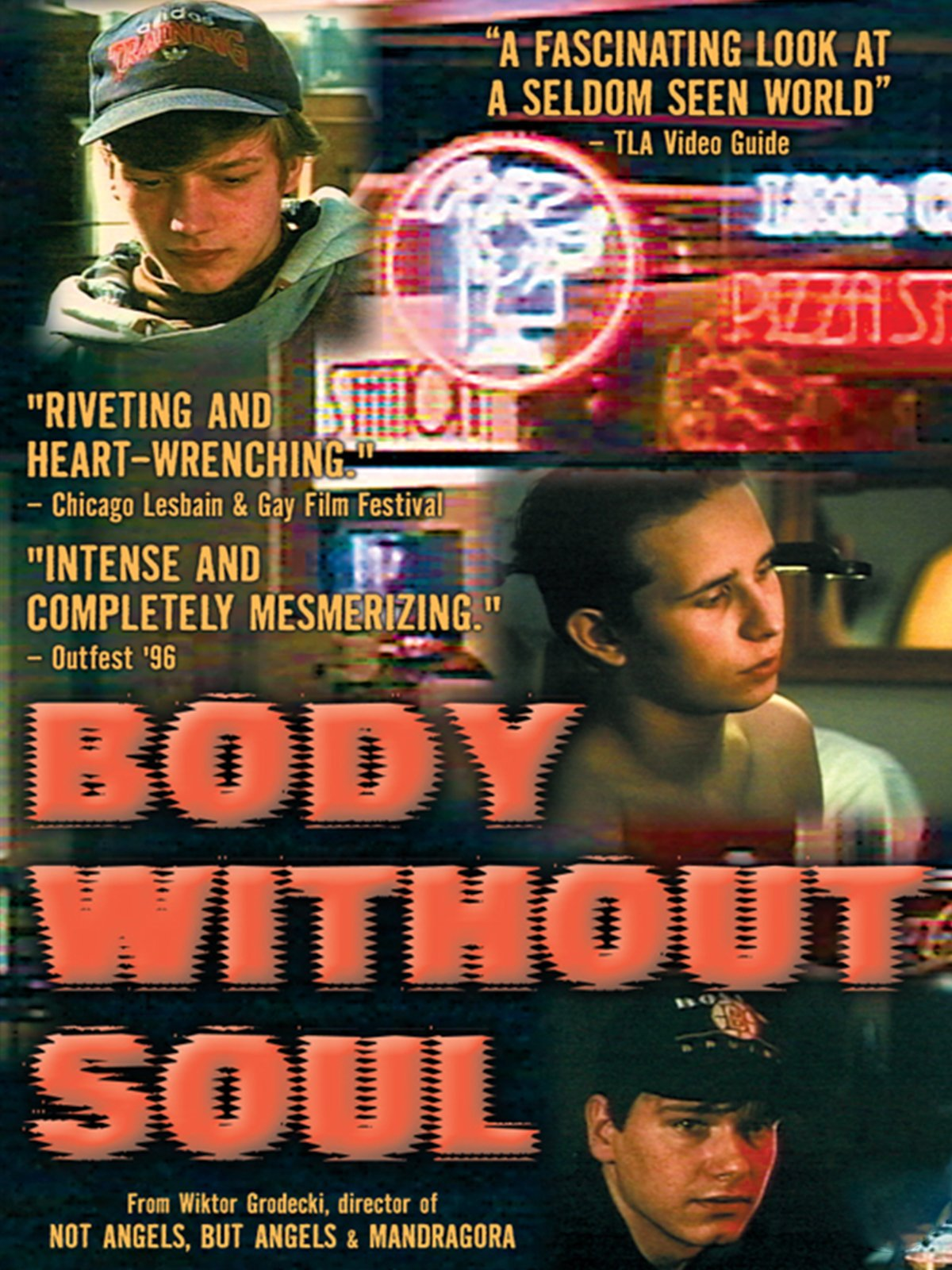 Body without soul -dokumentin dvd-kansikuva
